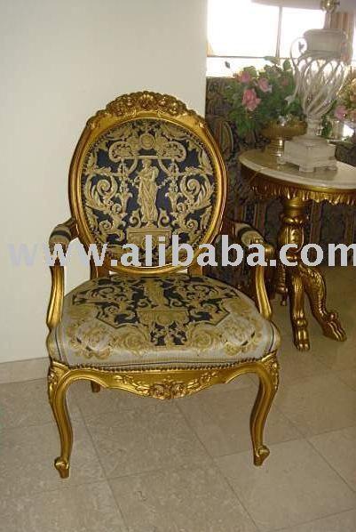 Oro luis xv sill n sillas de madera identificaci n del - Sillas luis xv ...