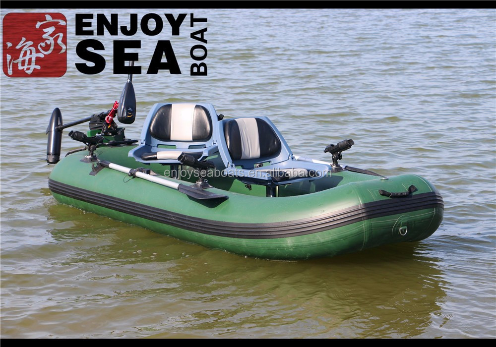 2016 one person inflatable lake fishing belly boat in for One man fishing boats