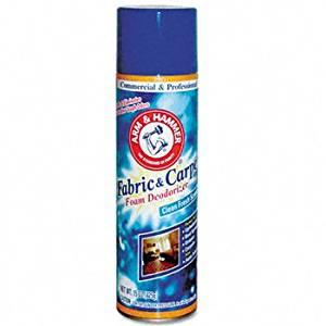 Arm & Hammer® Fabric & Carpet Foam Deodorizer CLEANER,CARPT FOAM DODRZR (Pack of 15)