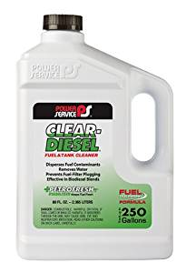 Power Service 08080-06-6PK Clear-Diesel Fuel and Tank Cleaner - 80 oz., (Case of 6)