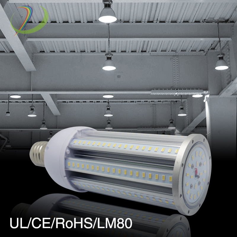 high lumen 27w 36w 45w 80w 100w IP65 E27 E40 54w LED corn light, LED corn bulb, corn LED light