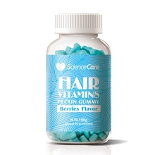 Oem Biotin Supplement Hair Vitamins Bears Pectin Gummy