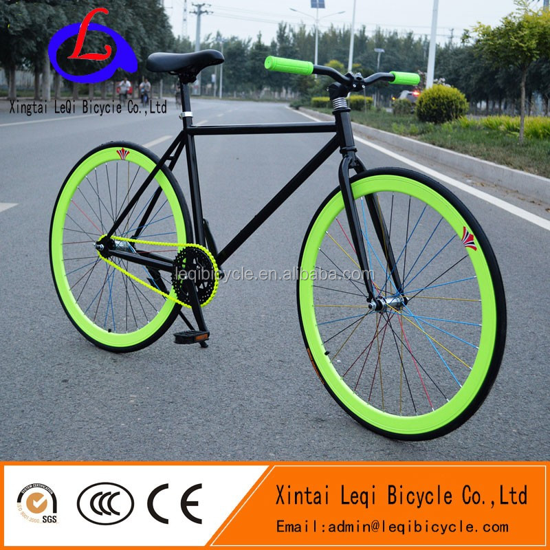 colorful steel road bike/fixed gear bycicle made in china