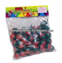 Small Size FootBall Bomb Firecracker Fireworks/Super Triangulos Firecracker