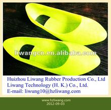 2012 fashion Christmas gift fluorescent colorful rain shoes cover