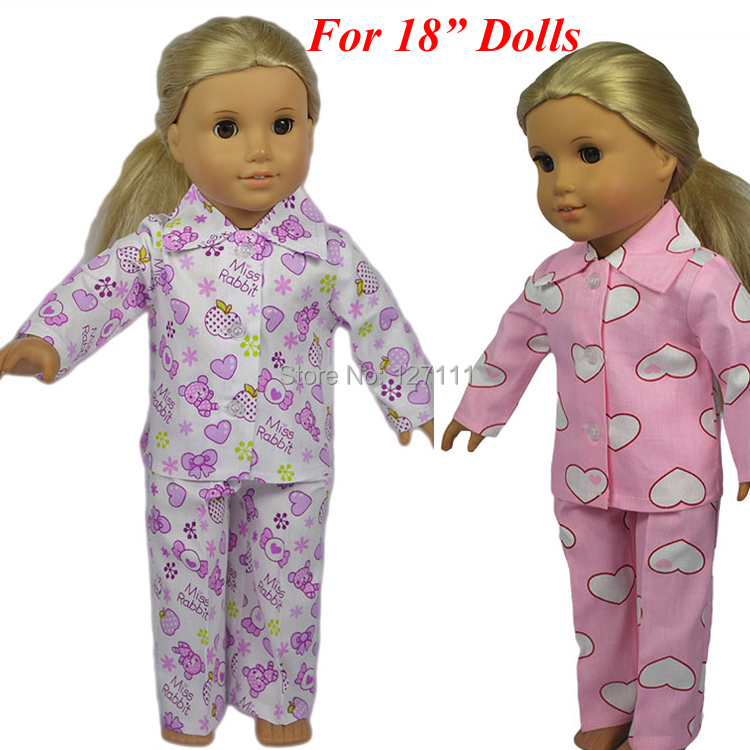 New style Popular 18 inch AMERICAN PRINCESS girl doll clothes doll clothes for 18 inch dolls