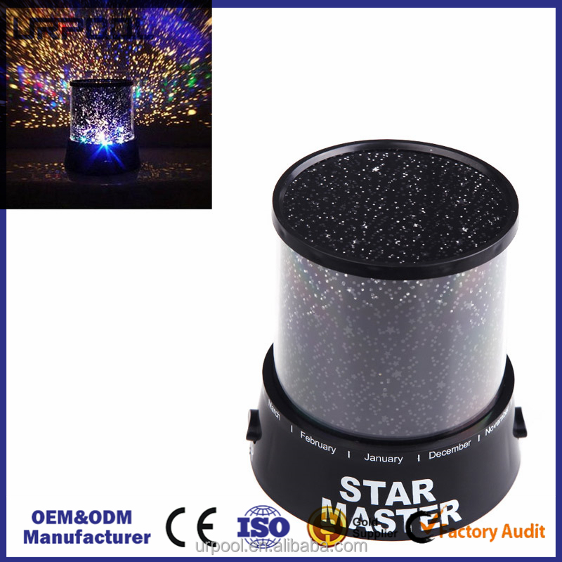 Fashion rechargeable LED star master night light for bar romantic master star master