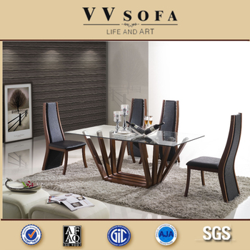 Kangbao Wooden Dining Table ,glass Dining Tables ,best Selling Italy Design  Dining Room Furniture