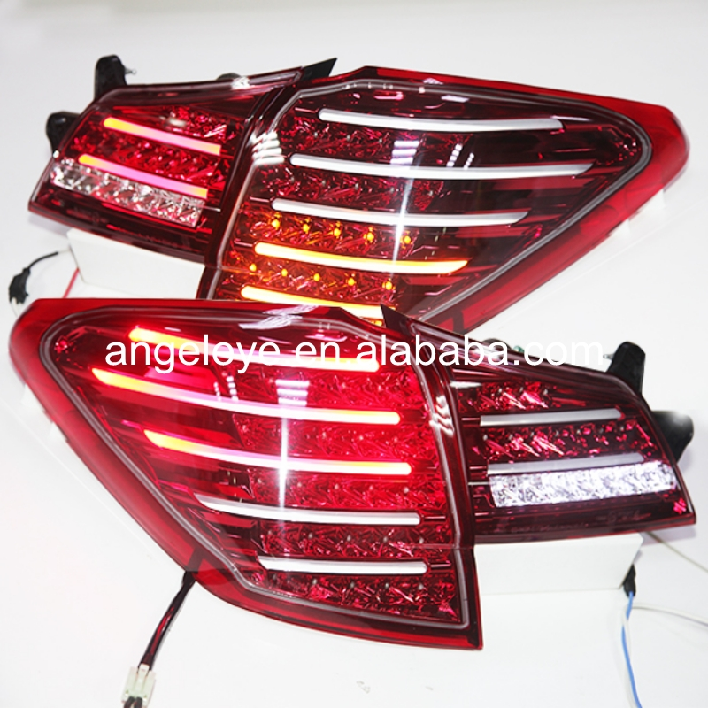2010-2013 Year For Subaru for Outback LED Tail Lamp Rear Lights Red White color TW