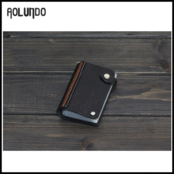 Trendy mens women credit card holders leather wallet wholesale