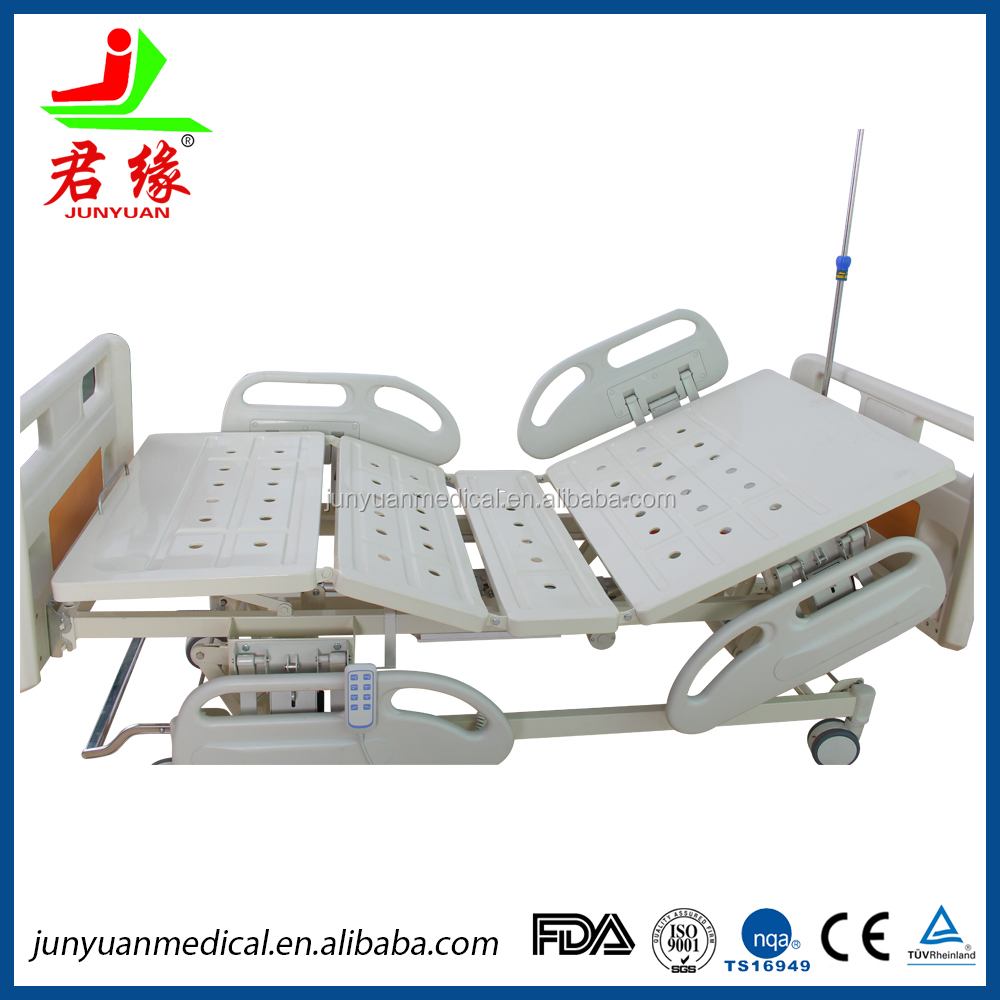 top quality electric 5 function tilt medical bed ICU hospital bed