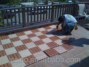 diy wood plastic composite tiles material for Patio, Balcony,Terrance,Walkway,Boardway Decking,Pool