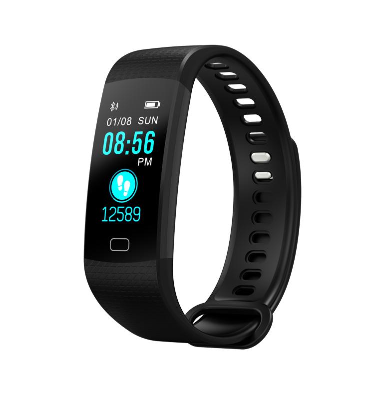 Smart Bracelet Y5 Hot Selling Fashion Fitness Tracker, Black;red;deep blue;light blue;purple