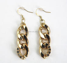 Exaggerated Chain Gold Earrings Wholesale Cheap Fashion Accessories