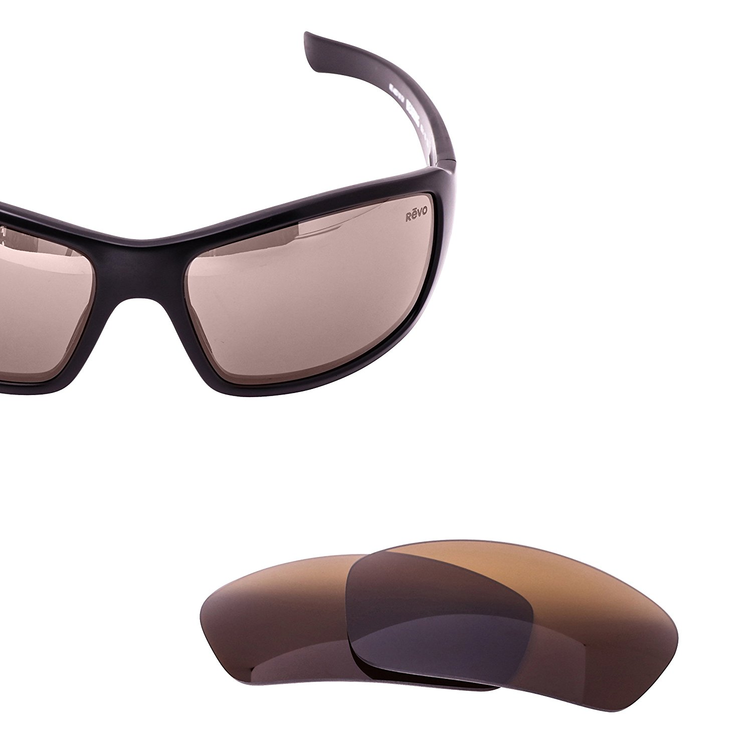 cf7042c2fa Revo Bearing Polarized Replacement Lenses by LenzFlip - Multiple Colors