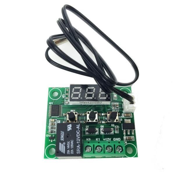 50-110/° C DC 12 V regulador de temperatura con termostato Interruptor de Temperatura Sensor t/érmico