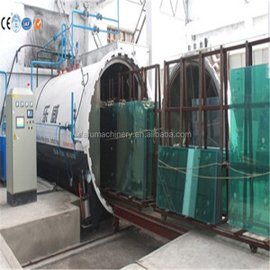 Top quality tempered laminated glass processing autoclave machine with good price
