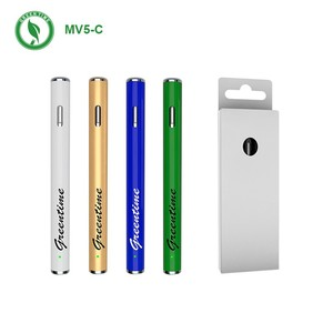 China supplier wholesale hot selling disposable vape pen 0.5ml thick thin cbd thc oil ceramic pyrex vapor metal pipe health