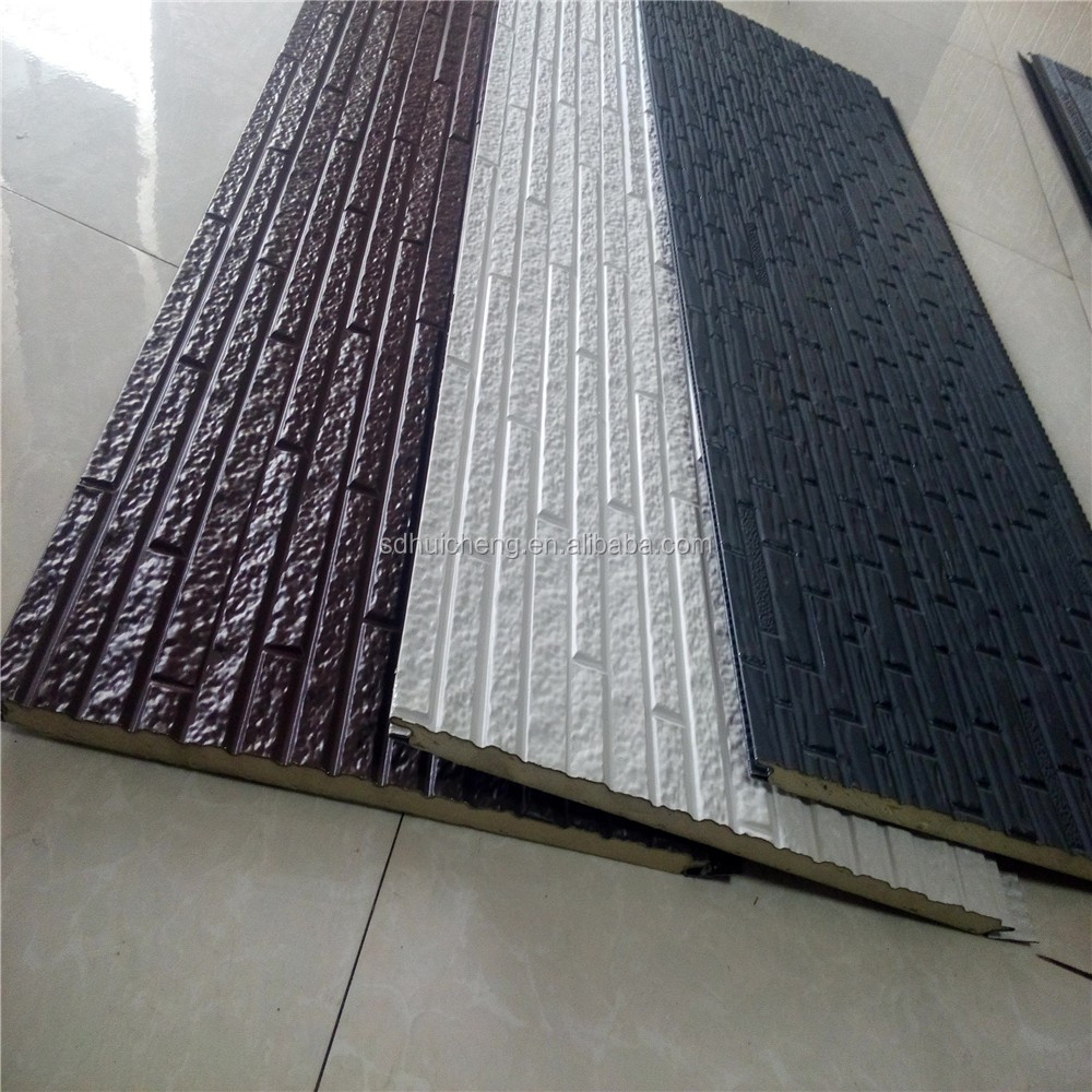 3d brick or stone PU/EPS decoration <strong>panel</strong> ,exterior wall insulation sandwich <strong>panel</strong>