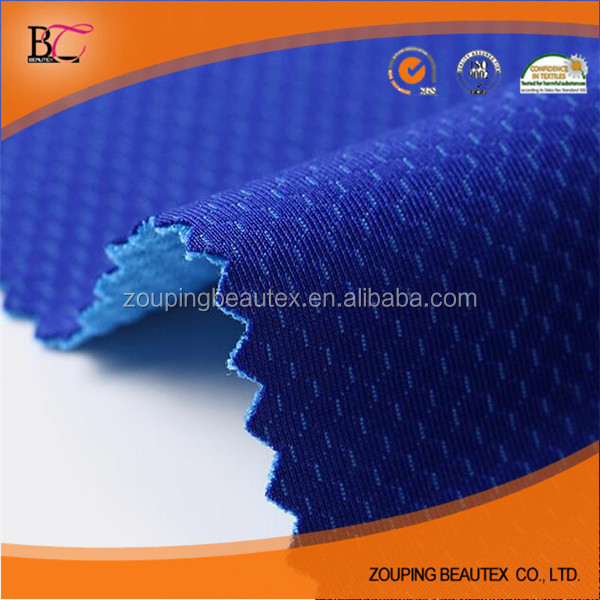 Hot sale mesh fabric stretch mesh composition for sportswear and clothing
