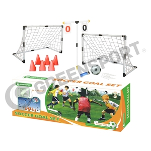 Plastic Soccer Goal With Cones and Number Cards for Training/Outdoor sports/Team games