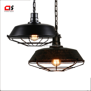 American Style Iron Made Dining Room Retro Lamp Loft E27 Edison Bulb Industrial Lighting Chandeliers Vintage Pendant Light