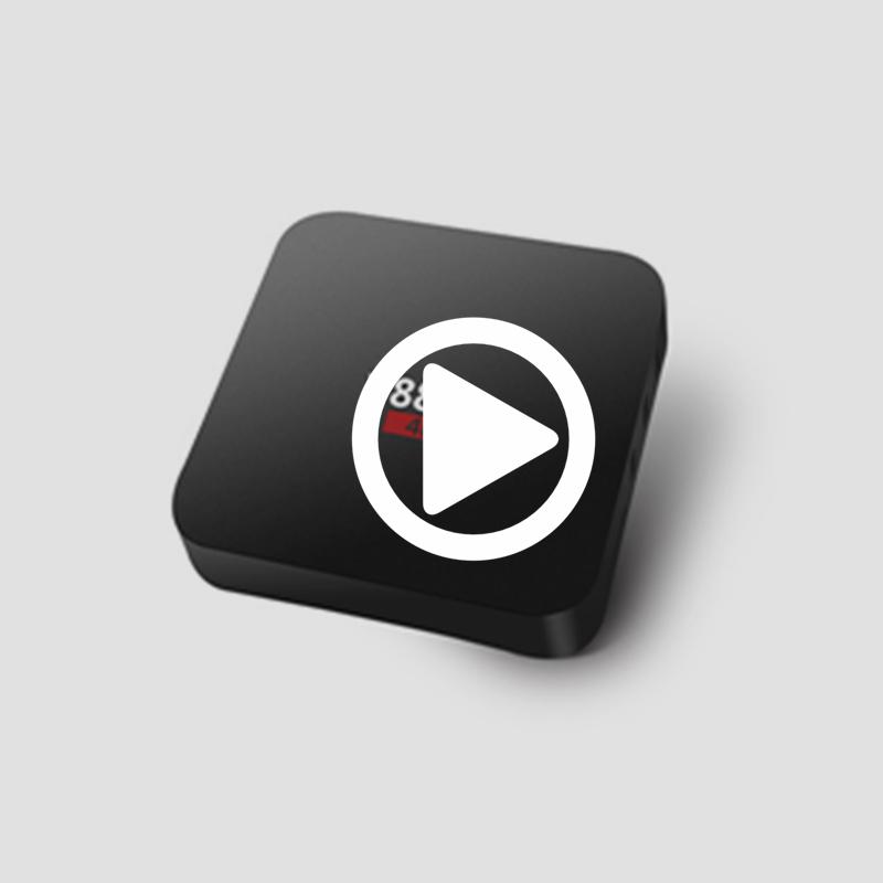 Factory price 2+8G HDMI2 0 tv box RTD1295DD 3D media player