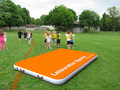 Wholesale tumble track inflatable air mat for gymnastics