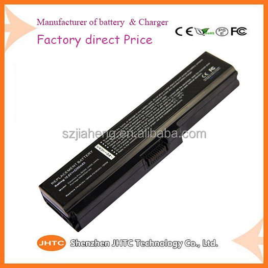 Factory direct Cheap Price18650 Laptop Battery PA3634U-1BRS For Toshiba U400 M300 10.8V battery manufacturer