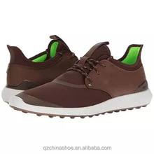 New design soft mesh light weight golf shoe mens shoe