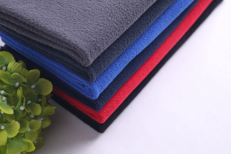 OEM cationic nfl polar fleece fabric curtain lining