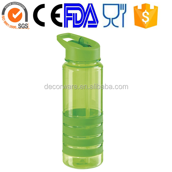 Medical grade sports water bottle 750ml,green