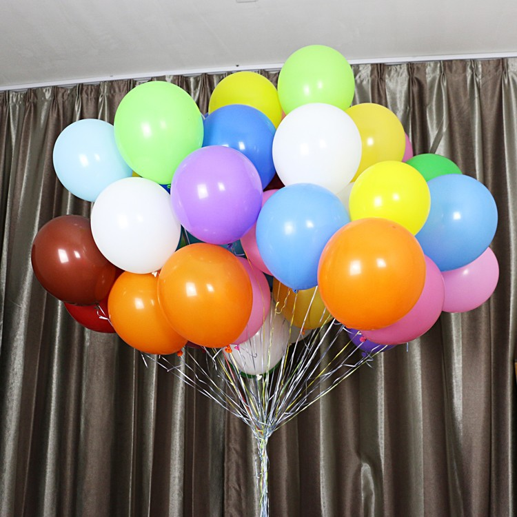 bulk wedding party latex balloons plain pearl baloon