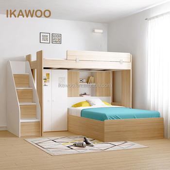 Ikawoo (ikazz) Kinder Möbel Mädchen Bett Für Mädchen Schlafzimmer ...