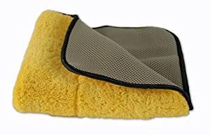 Carrand Microfiber MAX Body Shine Polishing Towel - 3 Pack