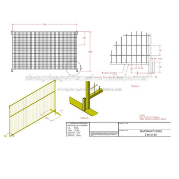 Temporary Fence Construction Fence Panel Buy Temporary