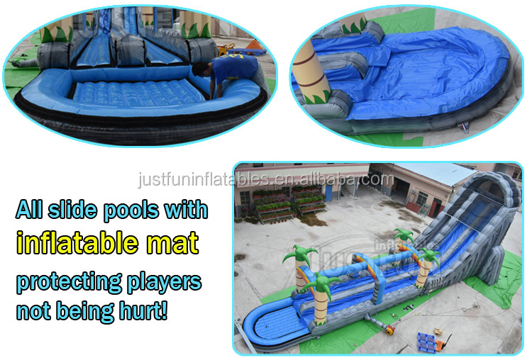 children outdoor playground equipment tweety giant inflatable slide dry