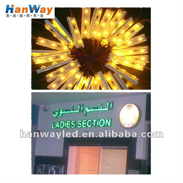 LED Sign Plastic Module with Piranha leds