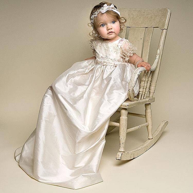 vintage baby m dchen jungen spitze champagne erstkommunion. Black Bedroom Furniture Sets. Home Design Ideas