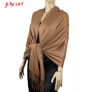 OEM/ODM Thailand thin scarves wholesale silk solid color pashmina scarf