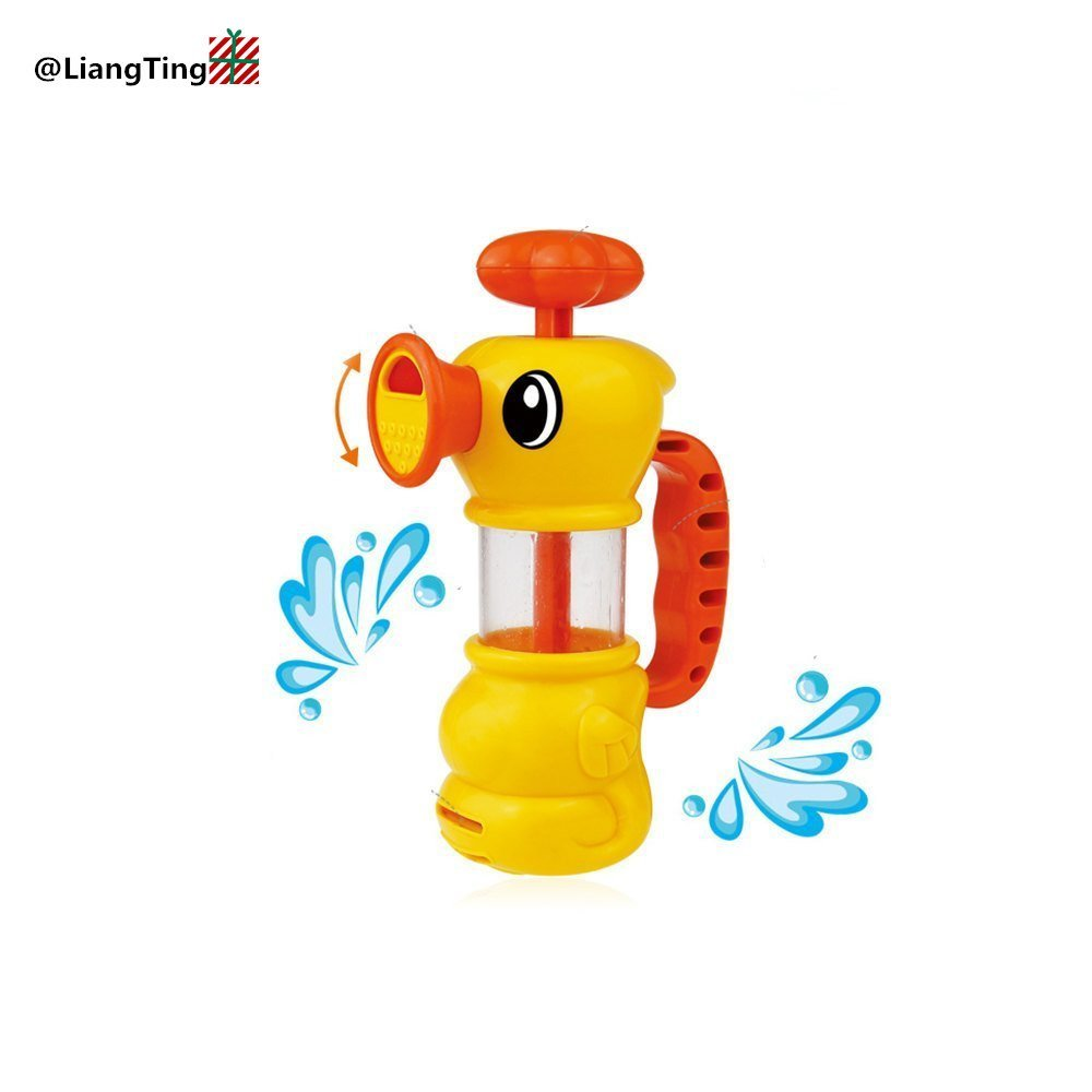 Bath Toy Water Spraytoy For Kids Water Pistol Spray Pump Duck Swimming Pool Squirt Bath Toys For Girls And Bays Two Ways Of Water Spray Toys & Hobbies