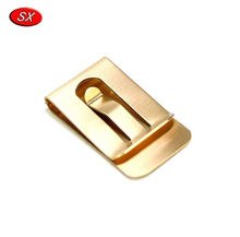 Wholesale Customized Money Clip Wallet Slim,Flat Metal Spring Clips,Wallet Money Clip with Factory Price