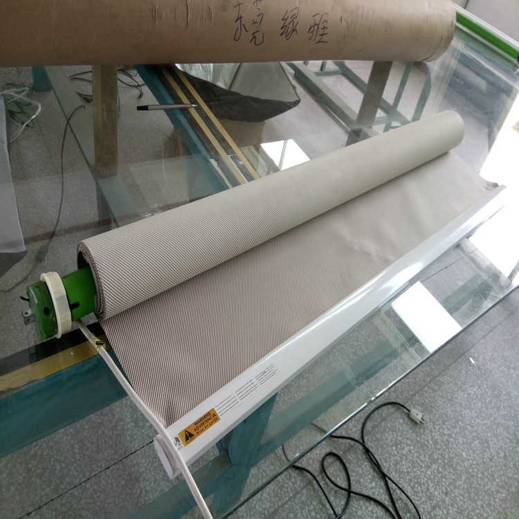 Dm25 Custom Made Electric Blackout Roller Blind For Window