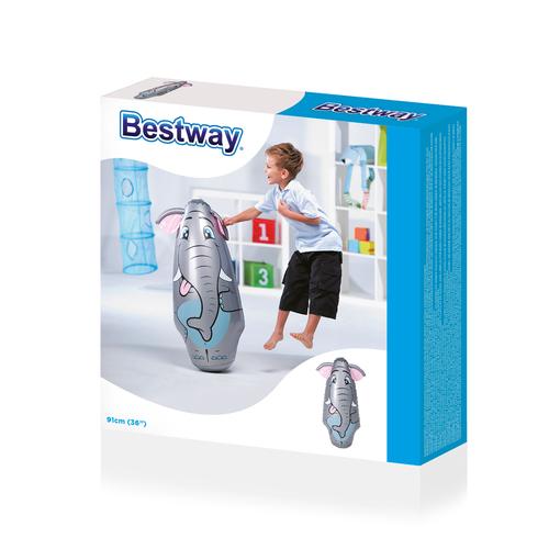 Morse Bestway Gonflable Blow Up 3D Bop Punch Perforatrice Sac De Boxe Sac jouet de sable