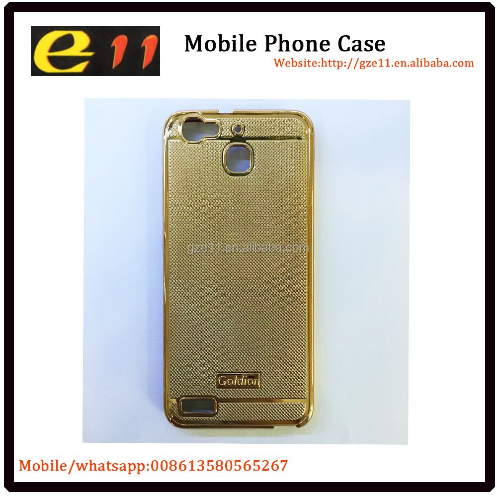 goldion cover for huawei GR3 mobile phone decorative back cover