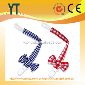 NEW STYLE!!!2018 baby pacifier clips, Factory wholesale baby holder pacifier clip for soothie pacifiers