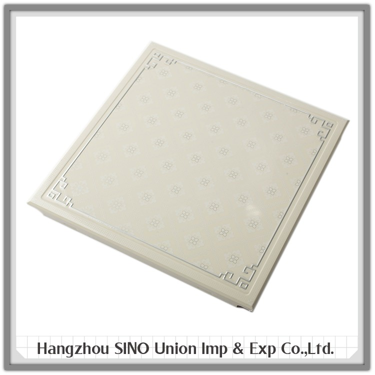 Direct online wholesale waterproof standard aluminium material lobby decoration gypsum ceiling board