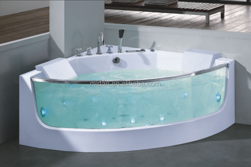 Tempered Glass Side Acrylic Bathtub, Tempered Glass Side Acrylic Bathtub  Suppliers And Manufacturers At Alibaba.com