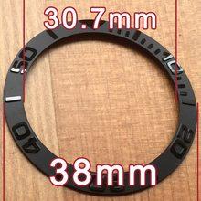 40,2 мм/38,6 мм/38 мм новый высококачественный керамический RLX БЕЗЕЛЬ для наручных часов вставка для яхты-мастер автоматические часы 116655 Замена(Китай)