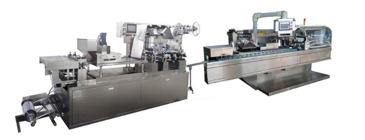 DPB-ZH high efficiency blister carton packing production line